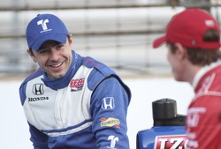 Front row photoshoot: third place Oriol Servia, Newman / Haas Racing