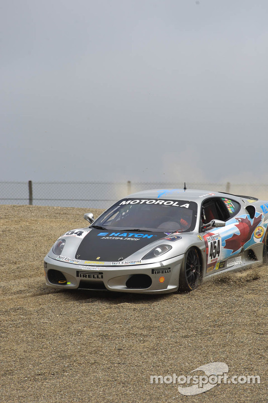 #454 Ferrari of Ft. Lauderdale Ferrari F430 Challenge: Rob Metka, going through the gravel