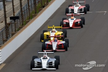Josef Newgarden, Sam Schmidt Motorsports leads the field