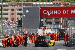 Crash of Vitaly Petrov, Lotus Renault GP