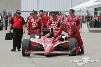 Car of Scott Dixon, Target Chip Ganassi Racing