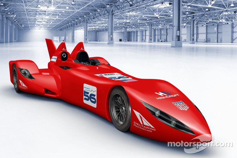 The Highcroft Racing DeltaWing car