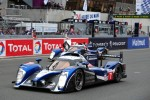 #7 Peugeot Sport Total Peugeot 908: Alexander Wurz, Marc Gene, Anthony Davidson, #9 Team Peugeot Total Peugeot 908: Sbastien Bourdais, Simon Pagenaud, Pedro Lamy