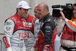 Race winner Benoit Tréluyer with Dr. Wolfgang Ullrich