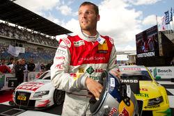 Parc ferme: race winner Martin Tomczyk, Audi Sport Team Phoenix celebrates