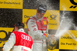 Podium: race winner Martin Tomczyk, Audi Sport Team Phoenix celebrates with champagne
