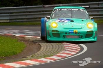 #44 Falken Tyre Europe Porsche 997 GT3 R: Wolf Henzler, Peter Dumbreck, Martin Ragginger, Sebastian Asch