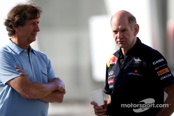 Mario Illien, Adrian Newey , Red Bull Racing