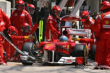 Record number of pit stops this season