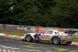 #46 Rowe Racing Mercedes-Benz SLS AMG GT3: Michael Zehe, Hubert Haupt, Klaus Rader, Mark Bullitt