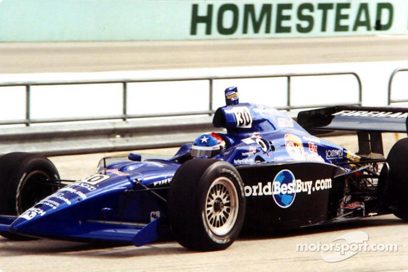 Brandon Irwin on pit lane