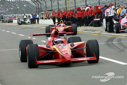 INDYCAR: Jimmy Vasser and Tony Stewart