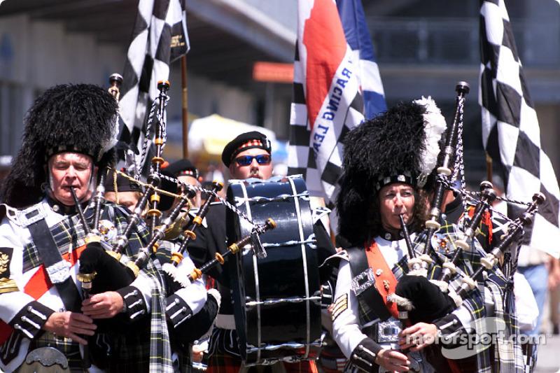 Scotish marching band