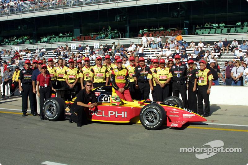 Mark Dismore and Kelley Racing