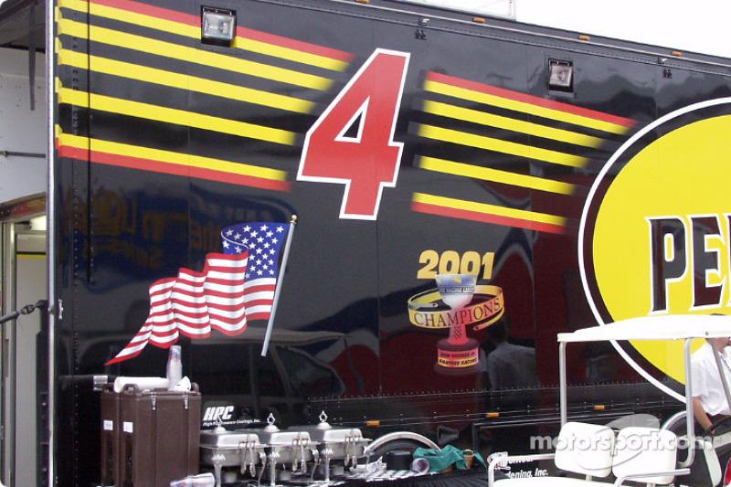 Panther Racing hauler