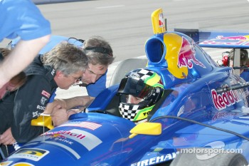 Eddie Cheever and Tomas Scheckter