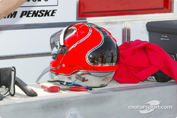 Helio Castroneves' helmet