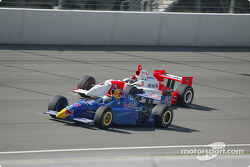 Eddie Cheever and Helio Castroneves