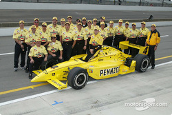 Sam Hornish Jr. and Panther Racing