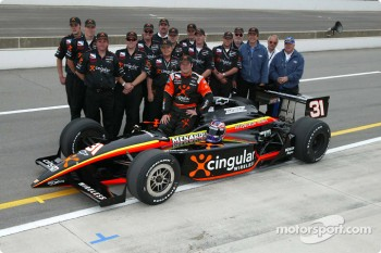 Robby Gordon and Team Menard/Childress