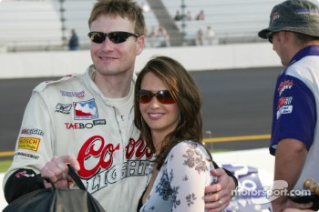 Buddy Lazier and wife Kara