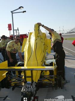 Panther Racing crew