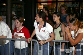 Toyota Indy Feat held in South Beach, Miami: fans