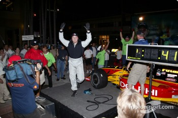 Toyota Indy Feat held in South Beach, Miami: pitstop competition with fans