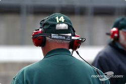 A.J. Foyt Racing team member