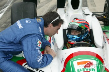 Bryan Herta and Tony Kanaan