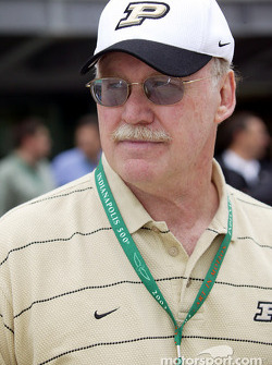 Joe Tiller, head football coach for Purdue University