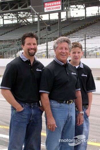 Michael, Mario and Marco Andretti