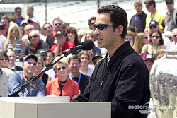 2002 Indy winner, Helio Castroneves