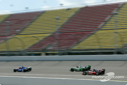 Bryan Herta, Tony Kanaan and Al Unser Jr.