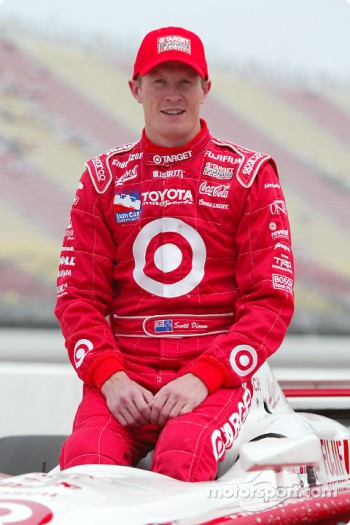 Second fastest qualifier Scott Dixon