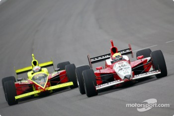 Scott Sharp and Dan Wheldon