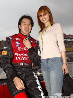 Tora Takagi with his lovely girlfriend