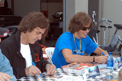 Arie Luyendyk and Arie Luyendyk Jr.