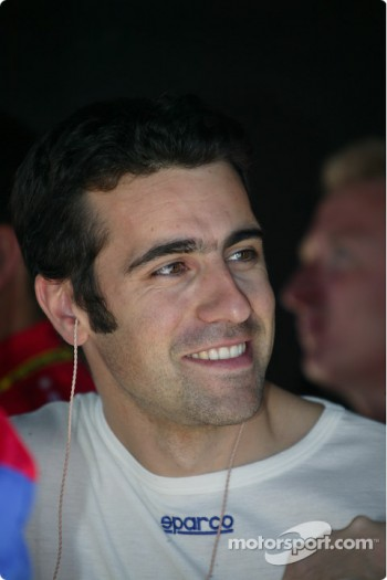 Dario Franchitti, driver of the #27 Motorola Andretti Green Racing