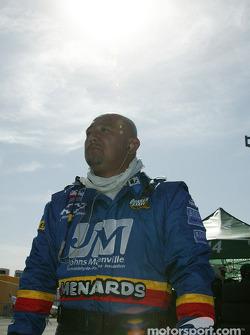 Panther Racing's Carlos Fernandes