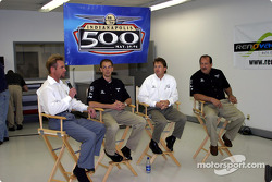 Access Motorsports driver Greg Ray and crew chief Jamie Nanny, engineer Mike Colliver and manager Ted Bitting