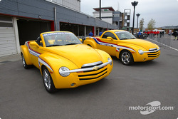 Chevrolet SSR pace vehicle