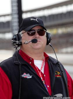 Panther Racing team manager John Barnes