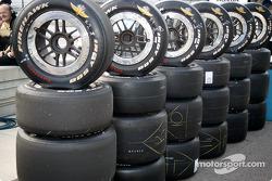 Indy 500 Firestone Firehawk tires