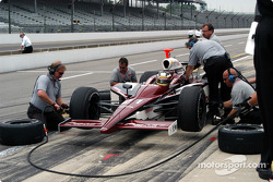 Pitstop practice for Jeff Simmons