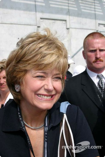 Grand Marshall and Indianapolis native Jane Pauley