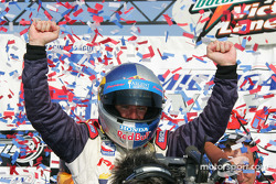Victory lane: Buddy Rice celebrates