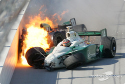 The Mark Taylor and A.J. Foyt IV crash