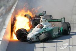 The Mark Taylor and A.J. Foyt IV crash