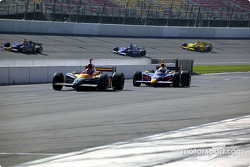 Bryan Herta and Ed Carpenter on pit road